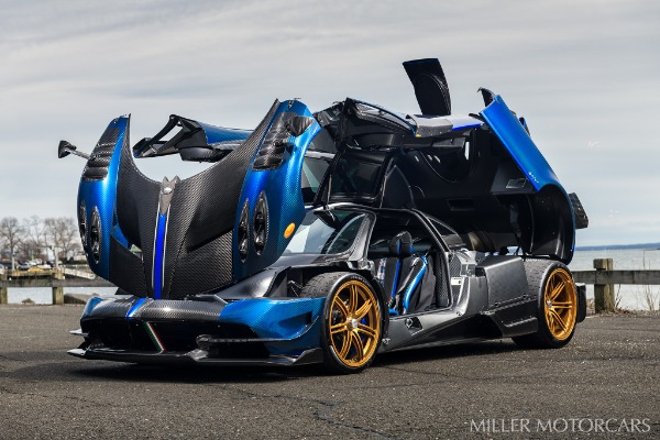 Used 2017 Pagani Huayra BC Macchina Volante for sale Call for price at Rolls-Royce Motor Cars Greenwich in Greenwich CT 06830 12
