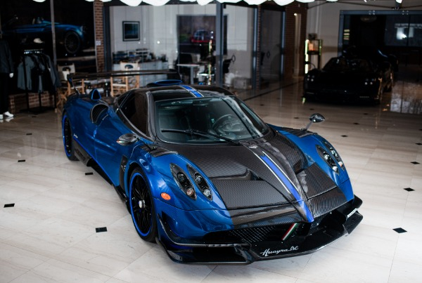 Used 2017 Pagani Huayra BC Macchina Volante for sale Call for price at Rolls-Royce Motor Cars Greenwich in Greenwich CT 06830 5