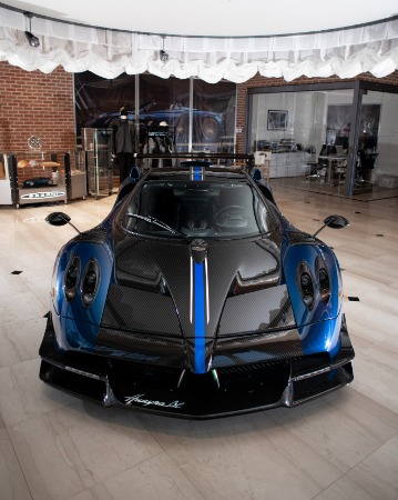 Used 2017 Pagani Huayra BC Macchina Volante for sale Call for price at Rolls-Royce Motor Cars Greenwich in Greenwich CT 06830 6