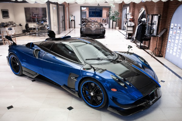 Used 2017 Pagani Huayra BC Macchina Volante for sale Call for price at Rolls-Royce Motor Cars Greenwich in Greenwich CT 06830 1