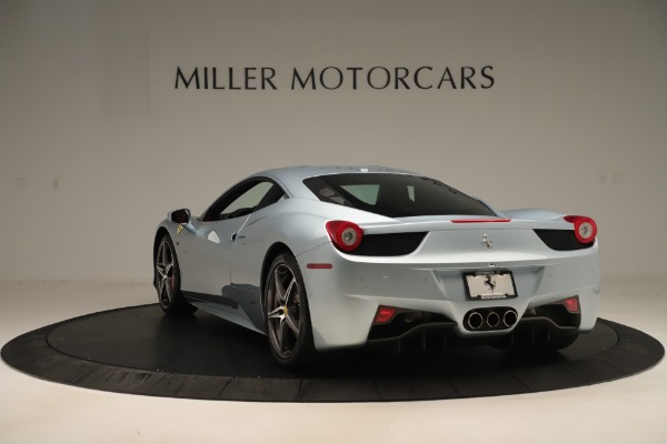 Used 2015 Ferrari 458 Italia for sale Call for price at Rolls-Royce Motor Cars Greenwich in Greenwich CT 06830 5