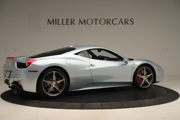 Used 2015 Ferrari 458 Italia for sale Sold at Rolls-Royce Motor Cars Greenwich in Greenwich CT 06830 8