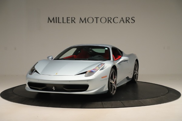 Used 2015 Ferrari 458 Italia for sale Sold at Rolls-Royce Motor Cars Greenwich in Greenwich CT 06830 1