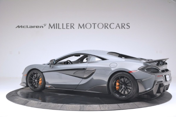 New 2019 McLaren 600LT Coupe for sale Sold at Rolls-Royce Motor Cars Greenwich in Greenwich CT 06830 4