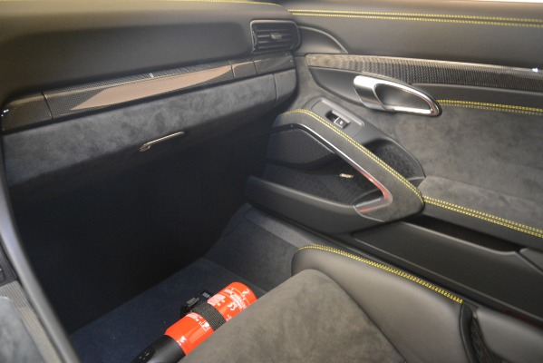Used 2018 Porsche 911 GT3 for sale Sold at Rolls-Royce Motor Cars Greenwich in Greenwich CT 06830 28