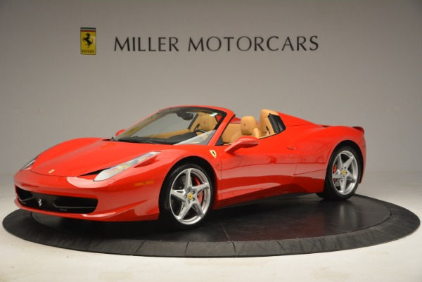 Used 2013 Ferrari 458 Spider for sale Sold at Rolls-Royce Motor Cars Greenwich in Greenwich CT 06830 2