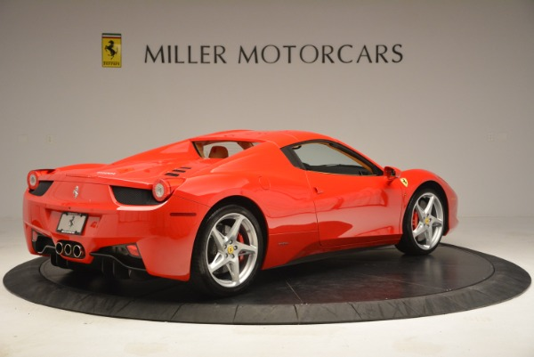 Used 2013 Ferrari 458 Spider for sale Sold at Rolls-Royce Motor Cars Greenwich in Greenwich CT 06830 20