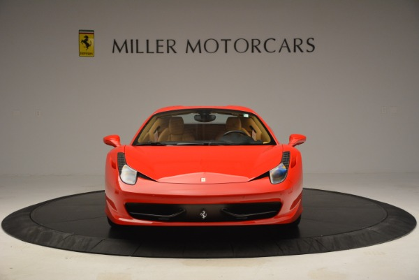 Used 2013 Ferrari 458 Spider for sale Sold at Rolls-Royce Motor Cars Greenwich in Greenwich CT 06830 24
