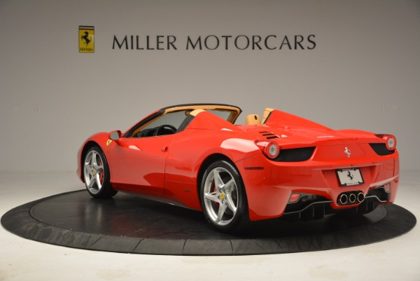 Used 2013 Ferrari 458 Spider for sale Sold at Rolls-Royce Motor Cars Greenwich in Greenwich CT 06830 5