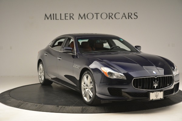 Used 2015 Maserati Quattroporte S Q4 for sale Sold at Rolls-Royce Motor Cars Greenwich in Greenwich CT 06830 11