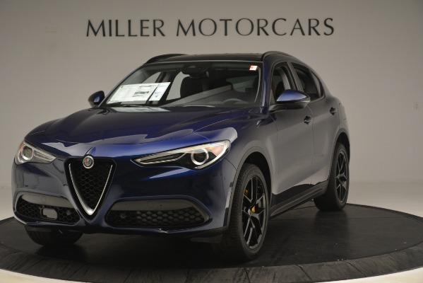 New 2019 Alfa Romeo Stelvio Sport Q4 for sale Sold at Rolls-Royce Motor Cars Greenwich in Greenwich CT 06830 1
