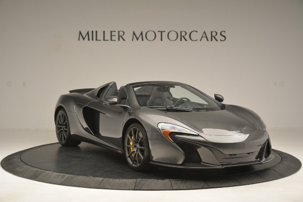 Used 2016 McLaren 650S Spider Convertible for sale Sold at Rolls-Royce Motor Cars Greenwich in Greenwich CT 06830 11