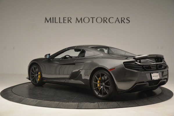 Used 2016 McLaren 650S Spider Convertible for sale Sold at Rolls-Royce Motor Cars Greenwich in Greenwich CT 06830 17