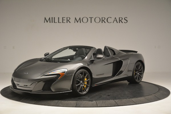 Used 2016 McLaren 650S Spider Convertible for sale Sold at Rolls-Royce Motor Cars Greenwich in Greenwich CT 06830 2