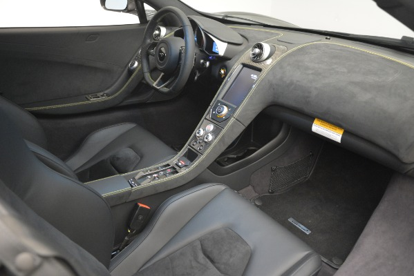 Used 2016 McLaren 650S Spider Convertible for sale Sold at Rolls-Royce Motor Cars Greenwich in Greenwich CT 06830 25