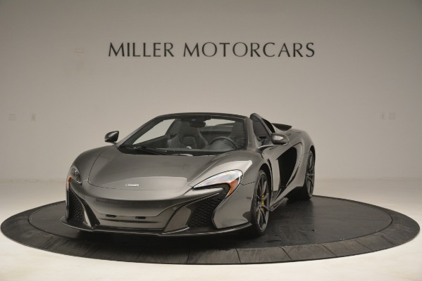 Used 2016 McLaren 650S Spider Convertible for sale Sold at Rolls-Royce Motor Cars Greenwich in Greenwich CT 06830 1