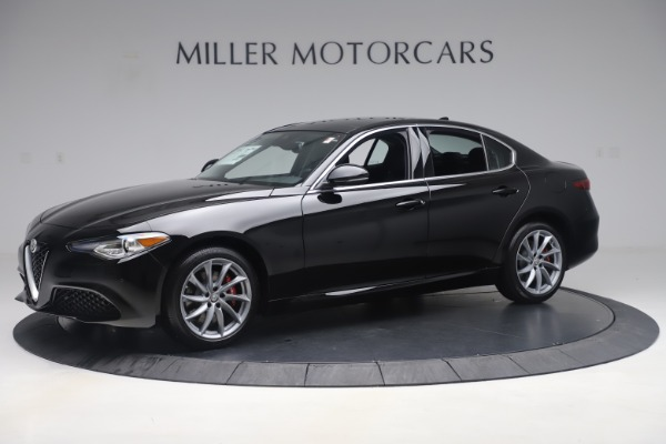 New 2019 Alfa Romeo Giulia Q4 for sale Sold at Rolls-Royce Motor Cars Greenwich in Greenwich CT 06830 2