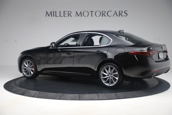 New 2019 Alfa Romeo Giulia Q4 for sale Sold at Rolls-Royce Motor Cars Greenwich in Greenwich CT 06830 4