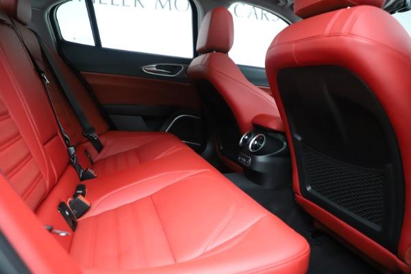 New 2019 Alfa Romeo Giulia Ti Sport Q4 for sale Sold at Rolls-Royce Motor Cars Greenwich in Greenwich CT 06830 27