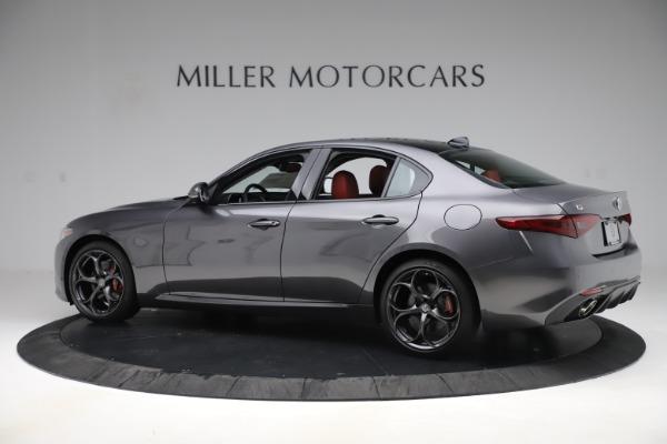 New 2019 Alfa Romeo Giulia Ti Sport Q4 for sale Sold at Rolls-Royce Motor Cars Greenwich in Greenwich CT 06830 4