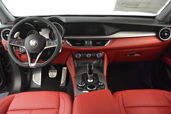 New 2019 Alfa Romeo Stelvio Sport Q4 for sale Sold at Rolls-Royce Motor Cars Greenwich in Greenwich CT 06830 16