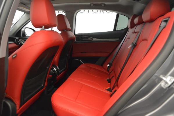 New 2019 Alfa Romeo Stelvio Sport Q4 for sale Sold at Rolls-Royce Motor Cars Greenwich in Greenwich CT 06830 19