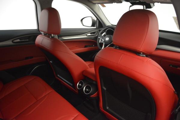 New 2019 Alfa Romeo Stelvio Sport Q4 for sale Sold at Rolls-Royce Motor Cars Greenwich in Greenwich CT 06830 28