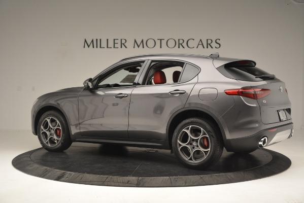 New 2019 Alfa Romeo Stelvio Sport Q4 for sale Sold at Rolls-Royce Motor Cars Greenwich in Greenwich CT 06830 4