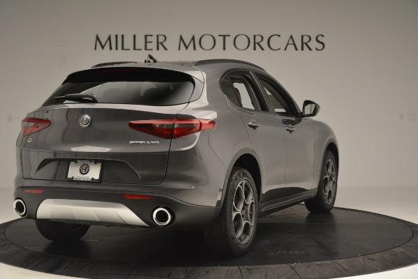 New 2019 Alfa Romeo Stelvio Sport Q4 for sale Sold at Rolls-Royce Motor Cars Greenwich in Greenwich CT 06830 7