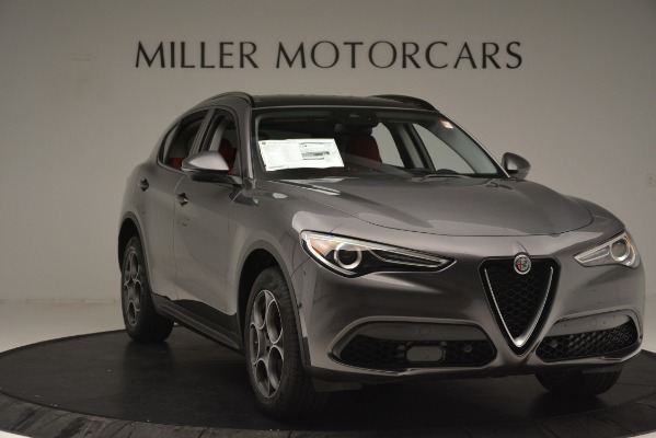 New 2019 Alfa Romeo Stelvio Sport Q4 for sale Sold at Rolls-Royce Motor Cars Greenwich in Greenwich CT 06830 11