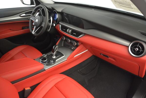 New 2019 Alfa Romeo Stelvio Sport Q4 for sale Sold at Rolls-Royce Motor Cars Greenwich in Greenwich CT 06830 22