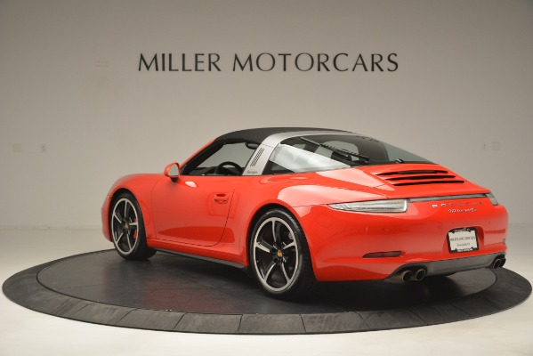 Used 2016 Porsche 911 Targa 4S for sale Sold at Rolls-Royce Motor Cars Greenwich in Greenwich CT 06830 15
