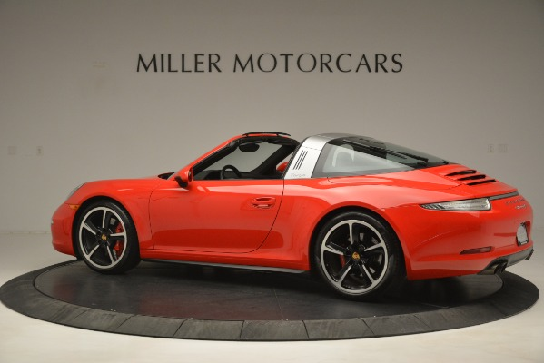 Used 2016 Porsche 911 Targa 4S for sale Sold at Rolls-Royce Motor Cars Greenwich in Greenwich CT 06830 4