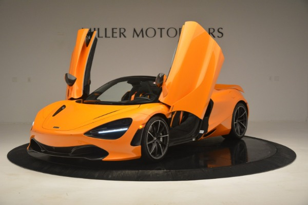New 2020 McLaren 720S Spider for sale Sold at Rolls-Royce Motor Cars Greenwich in Greenwich CT 06830 14