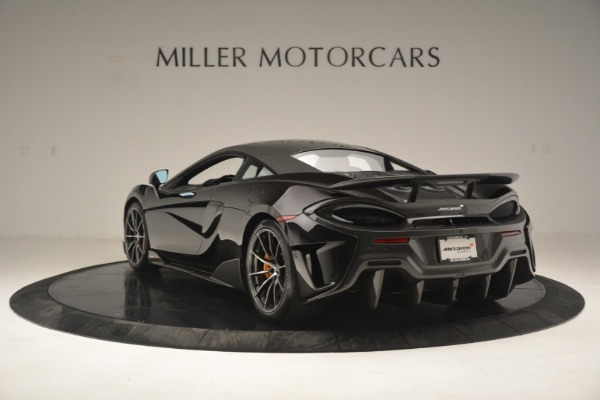 New 2019 McLaren 600LT Coupe for sale Sold at Rolls-Royce Motor Cars Greenwich in Greenwich CT 06830 6