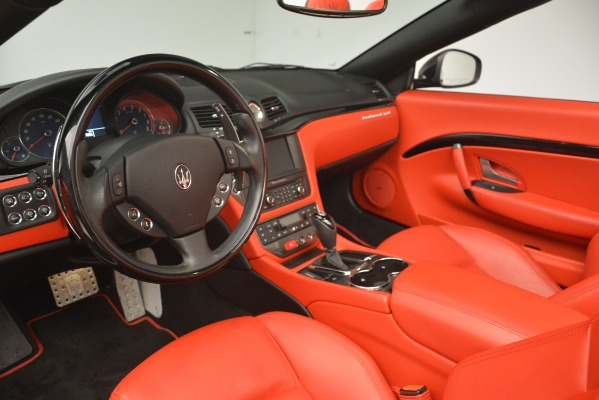 Used 2015 Maserati GranTurismo Sport for sale Sold at Rolls-Royce Motor Cars Greenwich in Greenwich CT 06830 25