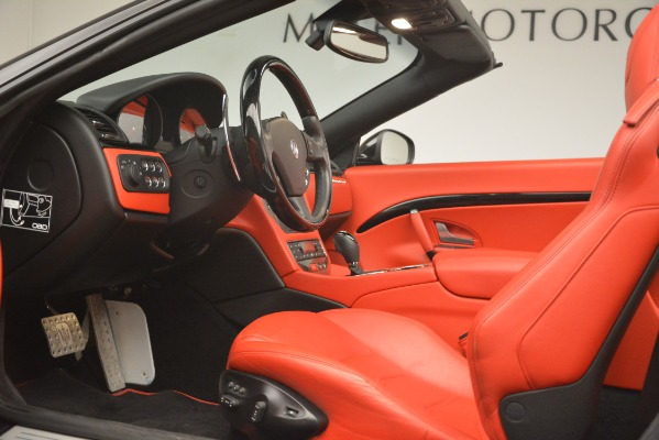 Used 2015 Maserati GranTurismo Sport for sale Sold at Rolls-Royce Motor Cars Greenwich in Greenwich CT 06830 26
