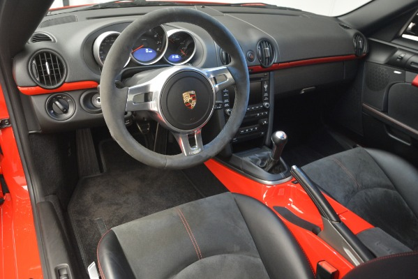 Used 2012 Porsche Cayman R for sale Sold at Rolls-Royce Motor Cars Greenwich in Greenwich CT 06830 17