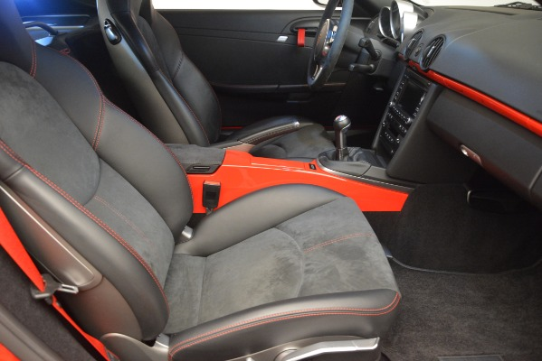 Used 2012 Porsche Cayman R for sale Sold at Rolls-Royce Motor Cars Greenwich in Greenwich CT 06830 22
