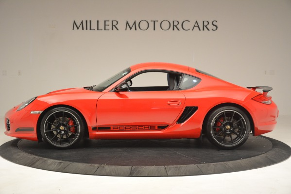 Used 2012 Porsche Cayman R for sale Sold at Rolls-Royce Motor Cars Greenwich in Greenwich CT 06830 3