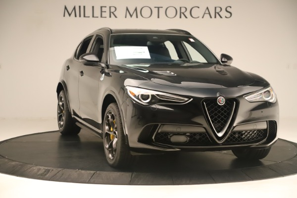Used 2019 Alfa Romeo Stelvio Quadrifoglio for sale Sold at Rolls-Royce Motor Cars Greenwich in Greenwich CT 06830 11