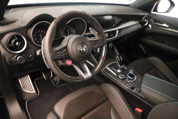 New 2019 Alfa Romeo Stelvio Quadrifoglio for sale $86,790 at Rolls-Royce Motor Cars Greenwich in Greenwich CT 06830 13