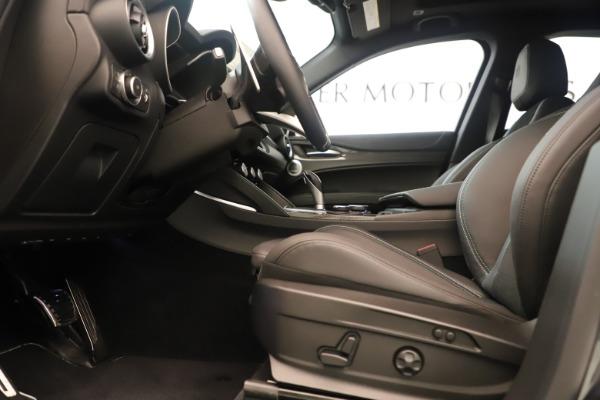 New 2019 Alfa Romeo Stelvio Quadrifoglio for sale $86,790 at Rolls-Royce Motor Cars Greenwich in Greenwich CT 06830 14