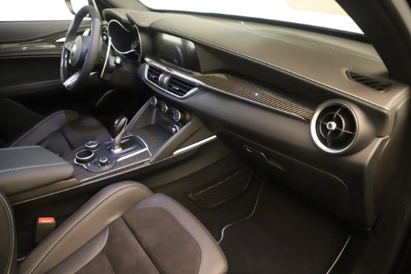New 2019 Alfa Romeo Stelvio Quadrifoglio for sale $86,790 at Rolls-Royce Motor Cars Greenwich in Greenwich CT 06830 22