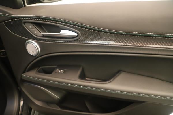 New 2019 Alfa Romeo Stelvio Quadrifoglio for sale $86,790 at Rolls-Royce Motor Cars Greenwich in Greenwich CT 06830 25