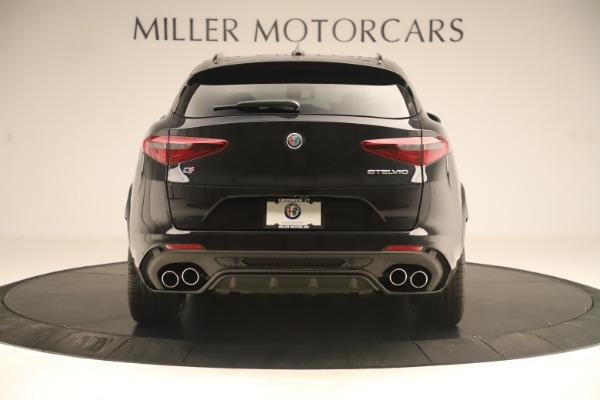 New 2019 Alfa Romeo Stelvio Quadrifoglio for sale $86,790 at Rolls-Royce Motor Cars Greenwich in Greenwich CT 06830 6