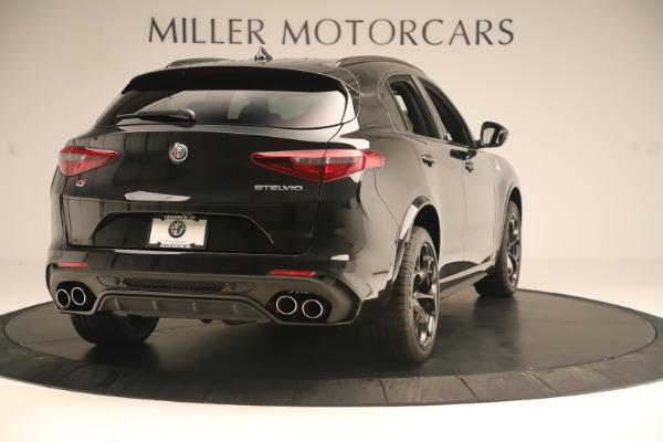 New 2019 Alfa Romeo Stelvio Quadrifoglio for sale $86,790 at Rolls-Royce Motor Cars Greenwich in Greenwich CT 06830 7