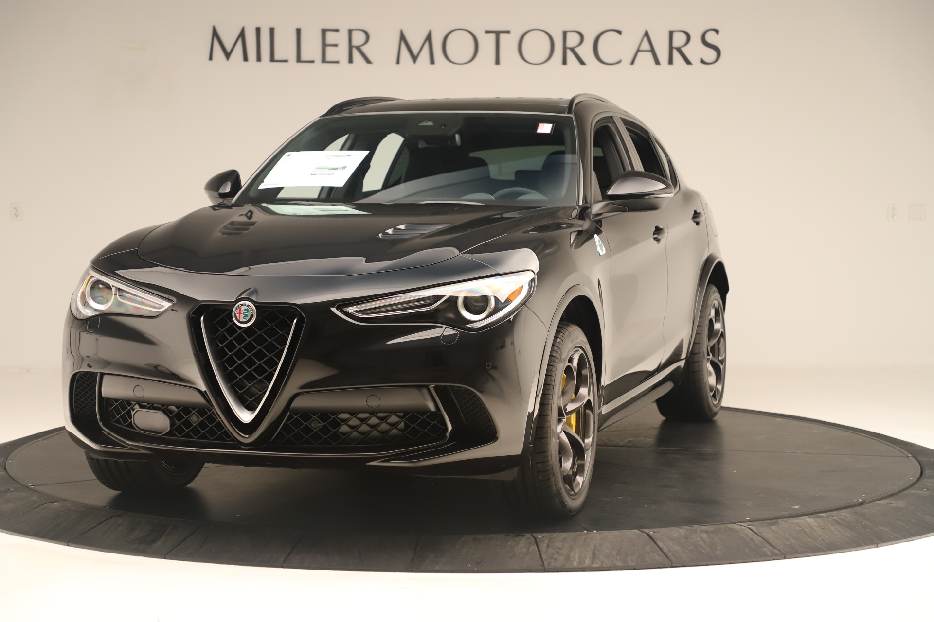 Used 2019 Alfa Romeo Stelvio Quadrifoglio for sale Sold at Rolls-Royce Motor Cars Greenwich in Greenwich CT 06830 1