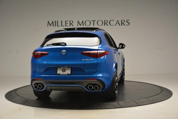 New 2019 Alfa Romeo Stelvio Quadrifoglio for sale $86,790 at Rolls-Royce Motor Cars Greenwich in Greenwich CT 06830 10