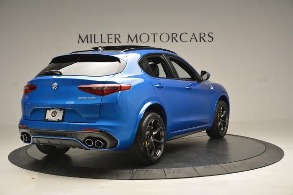 New 2019 Alfa Romeo Stelvio Quadrifoglio for sale $86,790 at Rolls-Royce Motor Cars Greenwich in Greenwich CT 06830 11
